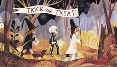 Adelina LIRIUS — The CAT Agency. Art and illustration Dark Drawings, Love Drawings, Animal Drawings, Halloween Books For Kids, Halloween Art, Illustration Courses, Children's Book Illustration, Halloween Illustration, Pretty Art