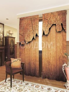 """Комплект штор """"Кора"""": купить комплект штор в интернет-магазине ТОМДОМ #томдом #curtains #шторы #interior #дизайнинтерьера"""