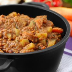 Berbere Stew Recipe | Frontier Co-op {need: tofu, lentils, diced tomatoes}