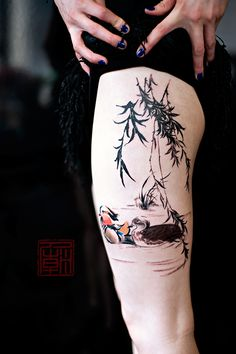 Watercolor tattoos on pinterest watercolor tattoos for Hong kong tattoo