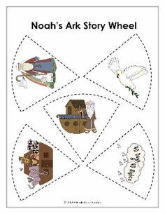 RESOURCE - Noah's Ark Story Wheel http://www.nicoleandeliceo.com/shop.html