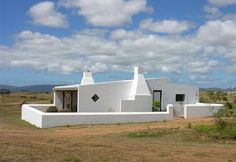 Witsand, Southern Cape  SA Village House Design, Village Houses, Villa Marina, Pioneer House, Provinces Of South Africa, Cape Town South Africa, Brick Walls, Good House, New Home Designs
