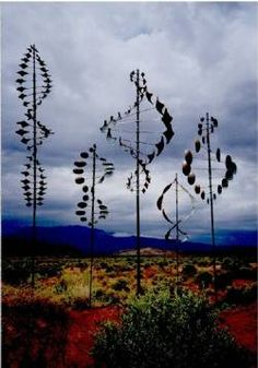 Lyman Whitaker wind sculptures