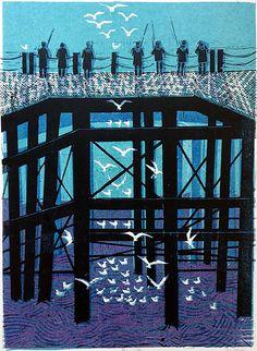 Pierhead (7) 14/50 by Robert Tavener