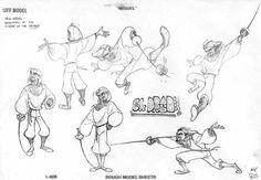 Category: Character Sheet - Character Design Page Road to El Dorado