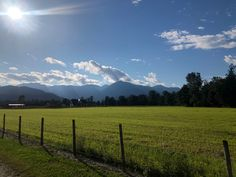 #fraservalley #field #green Fraser Valley, Mountains, Green, Nature, Travel, Viajes, Traveling, Nature Illustration, Off Grid
