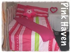 Style Squad member Micky did a room makeover for someone that really needed it. She was over the moon when I walked in with her new bedding, and decided her theme would be pink haven.   Ackermans