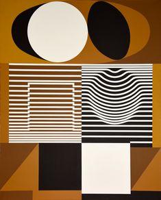 Ces motifs géométriques suggérés par des juxtapositions de lignes vous semblent familières ? À l'instar d'un Bernard Buffet ou d'un Robert Combas, Victor Vasarely fait partie de cette poignée d'artistes dont la production picturale est identifiable au premier coup d'œil, par le néophyte comme par le collectionneur. Ses formes géométriques ainsi que son célèbre travail sur l'art optique, ou Op art, en font l'un des artistes les plus connus de la scène artistique abstraite