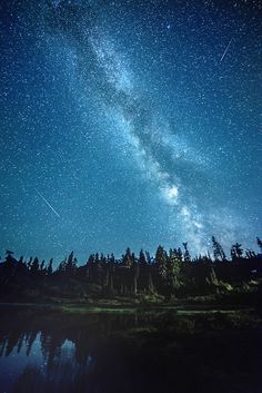Remember the Night - Picture Lake, WA | FREE STAR PHOTOGRAPHY TUTORIAL INCLUDED BELOW | | Flickr - Photo Sharing!