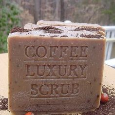 Click on the image for more details! - Brazilian Pure Coffee Luxury Scrub Soap Bar with Organic Coffee Butter and Essential Oils (Health and Beauty)