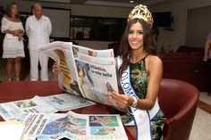 Road to Miss Universe : Colombia - http://missuniversusa.com/paulina-vega-miss-colombia/