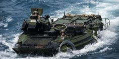The Marines Are Using These Badass Amphibious Vehicles to Rescue Hurricane Harvey Victims-Semper Fi