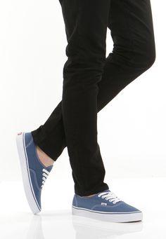 vans authentic navy Navy Shoes 940c0b325