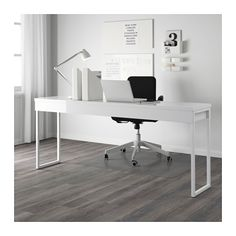 BESTÅ BURS Desk, high gloss white 70 7/8x15 3/4                                                                                                                                                                                 More