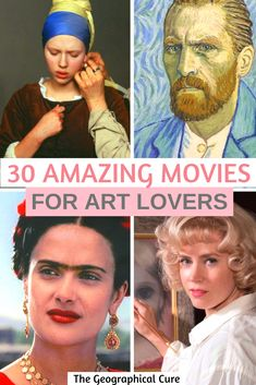 30 Amazing Movies About Great Artists