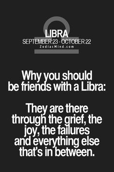 Why you should be friends with a Libra