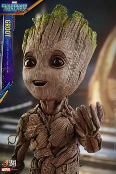Guardiões da Galáxia Vol. 2 | Hot Toys revela boneco de Baby Groot em tamanho real | Notícia | Omelete