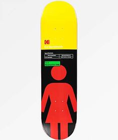 "Skateboarding has always been a blend of stylish tricks and DIY cinematography, artistic expression captured on film. Girl Skateboards and Kodak pay homage to the creative endeavor that is ""skateboarding"" with their new line of skateboard decks, this mode"