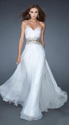formal dress,prom dresses #white