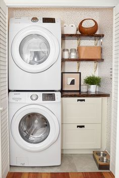 "Fantastic ""laundry room storage diy budget"" info is available on our site. Take a look and you wont be sorry you did. Laundry Nook, Tiny Laundry Rooms, Laundry Room Layouts, Laundry Room Remodel, Laundry Decor, Laundry Room Organization, Laundry Room Design, Small Laundry Closet, Laundry Room Ideas Stacked"
