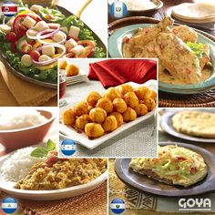 Enjoy these traditional dishes with family and friends. Rice Recipes, Pork Recipes, Chicken Recipes, Dinner Recipes, Dessert Recipes, Healthy Recipes, Desserts, Goya Recipes Puerto Rico, Goya Sazon Recipe