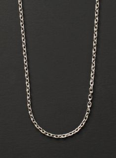 432a392468bf Sterling silver chain necklace for men - .925 sterling silver men s necklace  - simple and minimalist jewelry for men - fine jewelry for him.