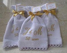 Lembrança para bodas de ouro | Pri Barbosa | Elo7