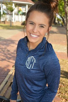 Monogrammed Performance Pullover Charles by TantrumEmbroidery