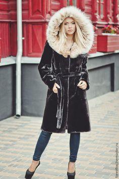 633d98f456b35 Real beaver fur coat Fur jacket Fur coats for women Long coat Winter coat  Trench coat Afghan coat Black fur coat gift for her Gift for women