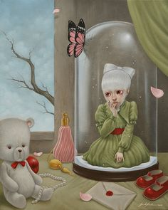 Kai Fine Art is an art website, shows painting and illustration works all over the world. Surrealism Painting, Pop Surrealism, Arte Lowbrow, Contemporary Art Artists, Pop Art Illustration, Art Addiction, Creative Photoshop, Weird Art, Strange Art