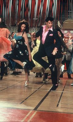 John Travolta and Annette Charles