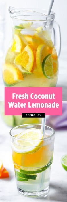 Coconut Water Lemonade Recipe — Eatwell101