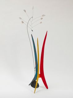 Alexander Calder, Yucca, 1941 Sheet metal, wire and paint 73 x 23 x 20 inches Solomon R. Guggenheim Museum, New York, Hilla Rebey Collection, 1971 © Calder Foundation, New York/Artists Rights Society (ARS)
