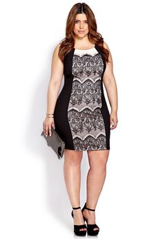 Sophisticate Lace Dress | FOREVER21 PLUS -