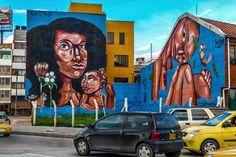 Murales de Bogota (murals in Bogota)