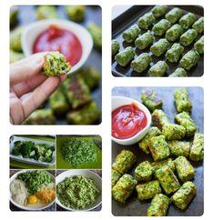BROKKOLI KROKETT. 120g brokkoli, 1 tojás, 1/2 vöröshagyma, 2ek cheddar,  3ek zsemlemorzsa, petrezselyem. 170°C, 20-25 perc. Cheddar, Sprouts, Drink, Vegetables, Food, Beverage, Cheddar Cheese, Essen, Vegetable Recipes