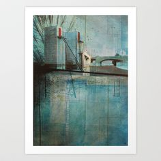 Gateway Art Print by Liz Brizzi - $15.00