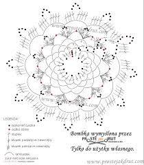 Resultado de imagen para serwetki szydełkowe do koszyczka wzory