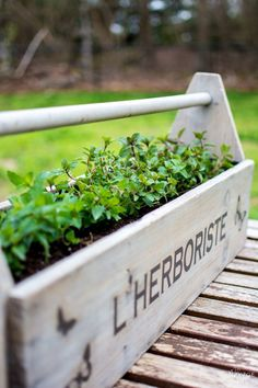 Toolbox to Planter -