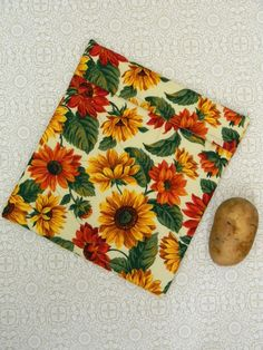 Microwave Potato Bag Fabric Baker Vegetable by AllasOriginals