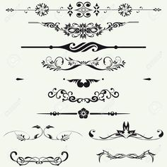 Borders And Elements For Design Vector Royalty Free Cliparts, Vectors, And Stock Illustration. Pic 19735464.
