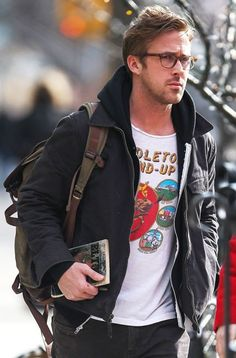 Ryan Gosling steps out with an interesting literary selection, 'El' Topo', in New York on March 20, 2013. The book is from the surreal Mexican-American western film, released in 1970. [Photo Credit: GSNY/Splash News]