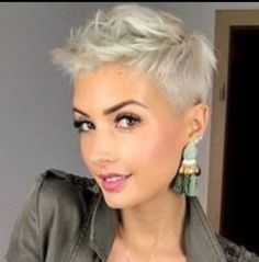 Undercut Hairstyles, Pixie Hairstyles, Cool Hairstyles, Haircuts, Short Pixie, Short Hair Cuts, Short Hair Styles, Pixie Cuts, Jenny Schmidt