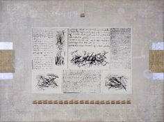 "Saatchi Online Artist: Lucienne Smit; Mixed Media ""LETTERS FROM THE PAST"""
