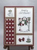 Stampin Up Christmas Card Stampin Up Cards Christmas In July Snowman Card