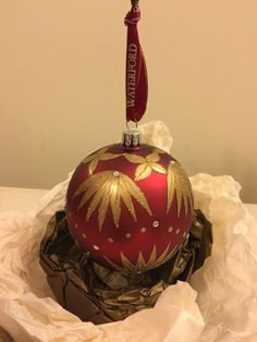 Waterford Heirloom Christmas Ornament Excellent Used Condition
