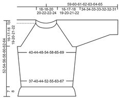 """Vintage Charmer - Gebreide DROPS trui met een rand met kabeltjes, kantpatroon en raglan van """"Baby Merino"""". Maat: XS - XXXL. - Free pattern by DROPS Design"""