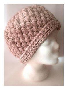 71e1f6d0d1 bonnet au crochet laine mohair rose poudré//bonnet en laine Bonnet Laine  Femme,