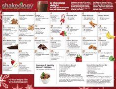 30 days of holiday Shakeology