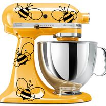 Adorable Bumblebee Decals for your KitchenAid Mixer!